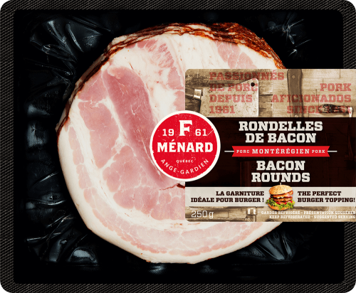 F. Ménard | Products | Slices of bacon | 250g