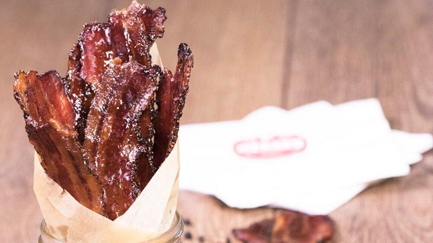 Bacon glacé au poivre et balsamique | Recette | F. Ménard