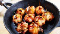 Baluchons surprises au bacon et pommes | Recette | F. Ménard