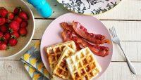 Gauffre bacon-cheddar | Recette | F. Ménard
