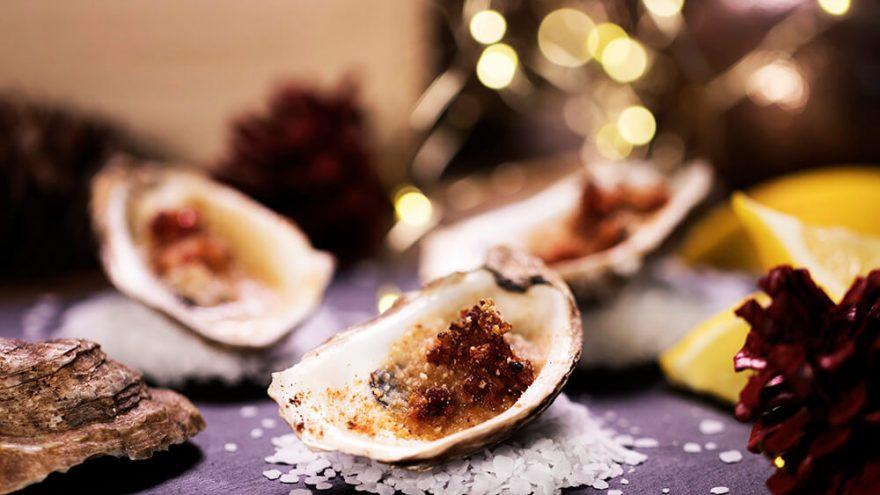 Huîtres festives au bacon et poivrons | Recettes | F. Ménard
