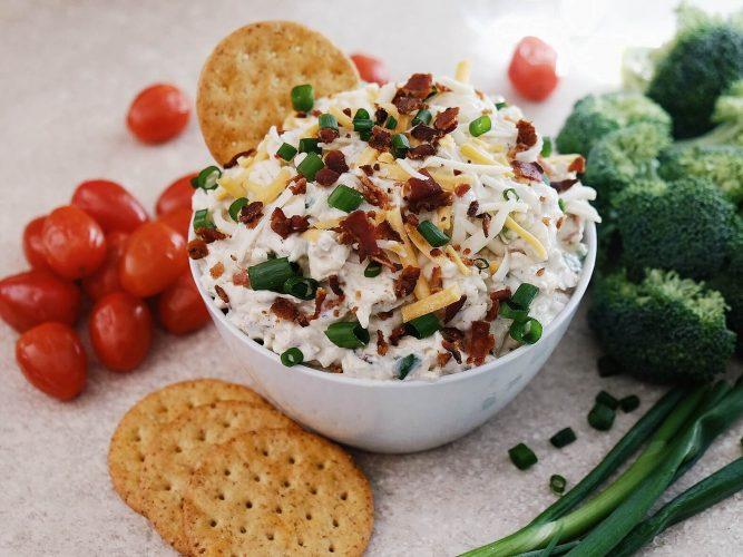 Trempette au bacon et au fromage | Recette | F. Ménard