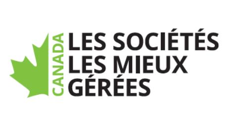 Nouvelles | F. Ménard | Lauréate or des Sociétés les mieux gérées au Canada