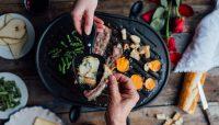 Plateaux gratinés pour raclette | Recette | F. Ménard