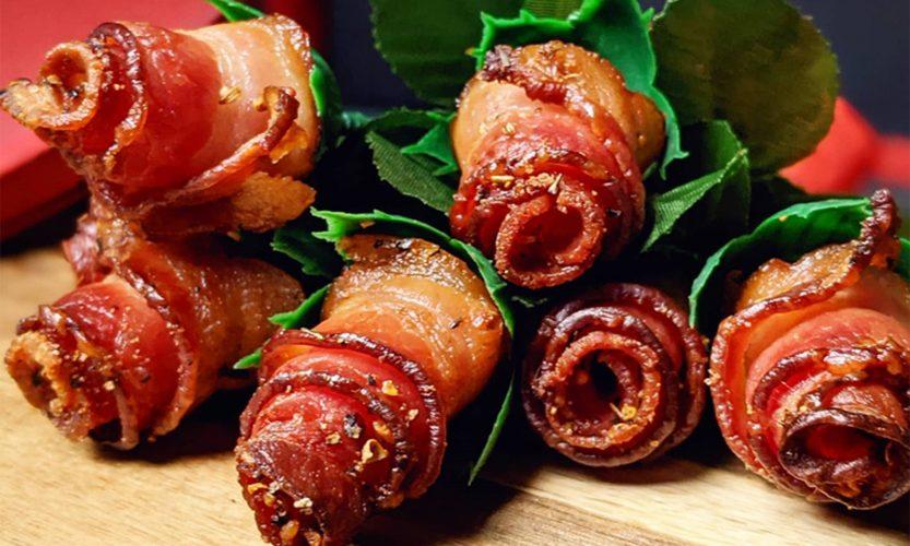 Roses de bacon